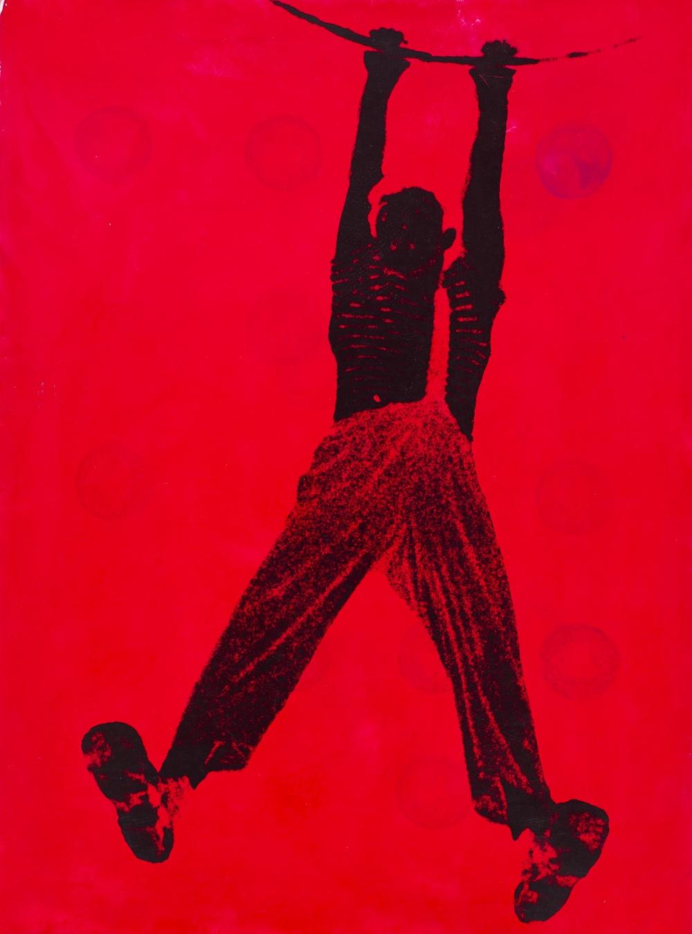 """Wojciech Zamecznik, studium doprojektu broszury cyrku """"As"""", 1963, dzięki uprzejmości Fundacji Archeologia Fotografii"""