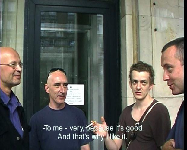 Supergrupa Azorro, kadr zfilmu Bardzo nam się podoba