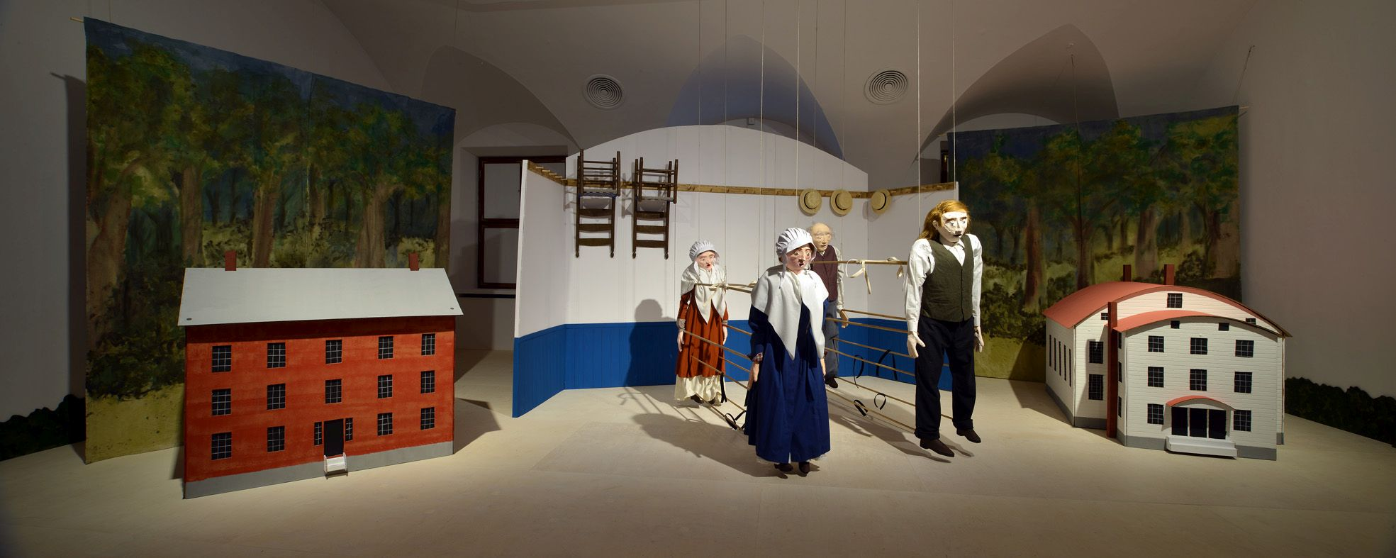 Rzeczy robią rzeczy, widok wystawy, fot.Jan Smaga