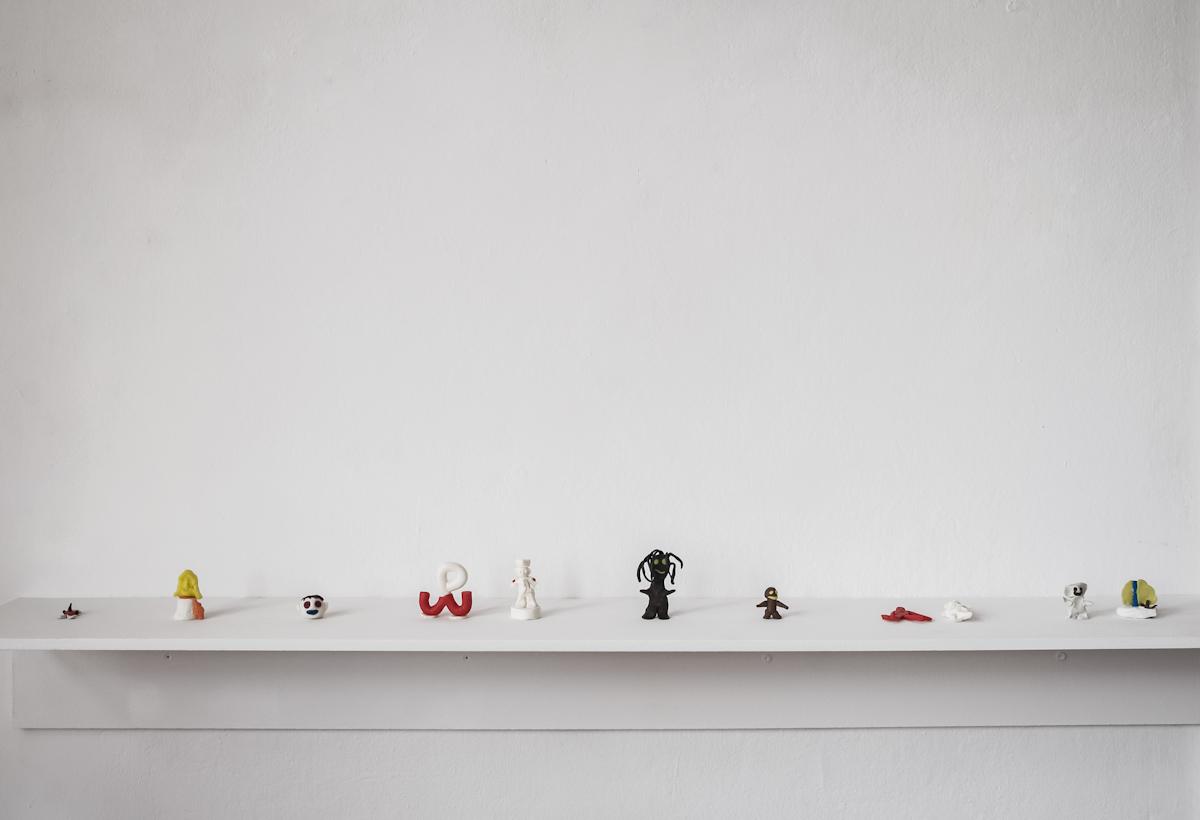 Zuzanna Janin, Pamięci Jerzego C (figurki zplasteliny wykonane przezosadzonych, Więzienie dla mężczyzn wAreszcie Śledczym Warszawa Mokotów)