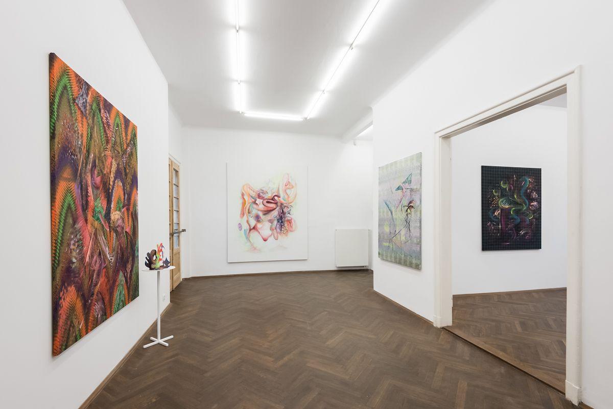 Gorąc, widok wystawy, dzięki uprzejmości BWA Warszawa