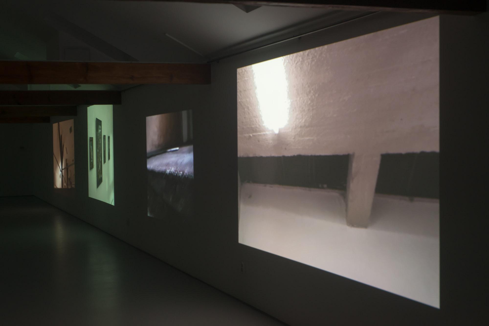 Gatunki przestrzeni, widok wystawy