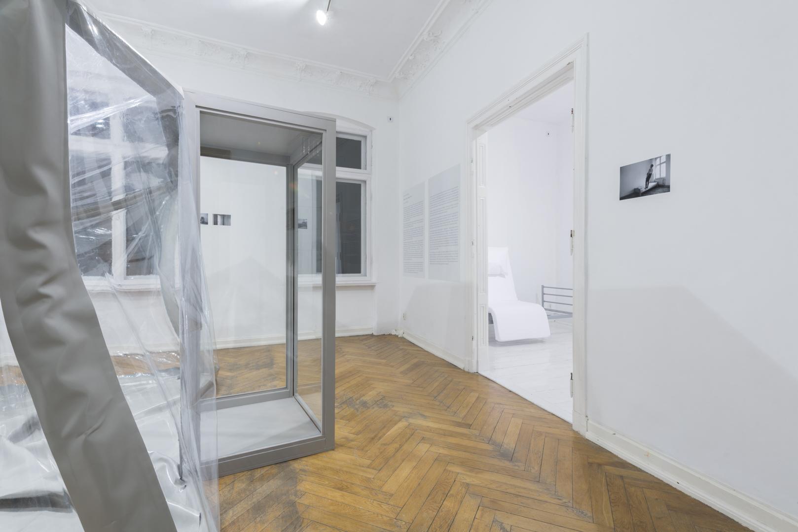 Katarzyna Malejka, Wada ukryta, widok wystawy