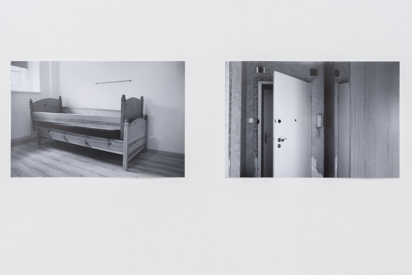 Katarzyna Malejka, zserii Ćwiczenia zniepewności, fotografia, 14 x 21 cm, 2016
