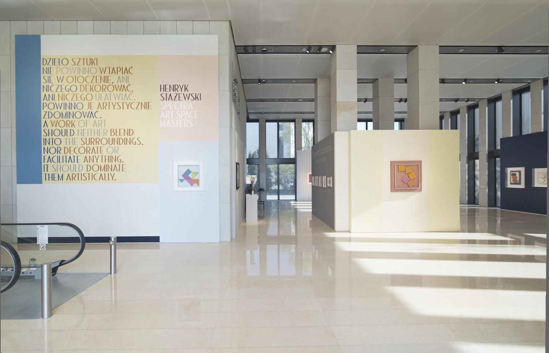 Henryk Stażewski | Spectra Art Space MASTERS, widok wystawy