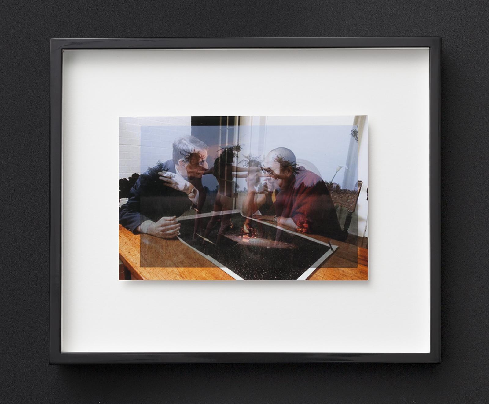 """Agnieszka Brzeżańska, Beztytułu, zserii """"Matrix-Sratrix"""", 2016, wydruk Lambda, 26,2 x 31,2 cm, dzięki uprzejmości Artystki iGalerii Kasia Michalski"""