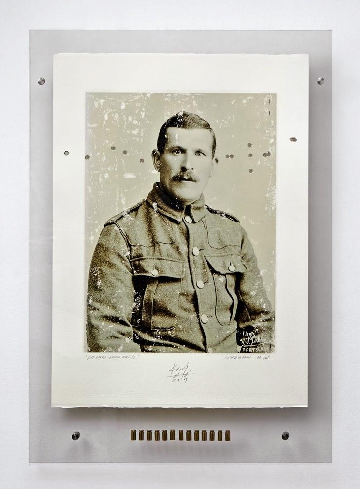Károly Sándor Áron, Gun Works Series - Saving WWI, 2014