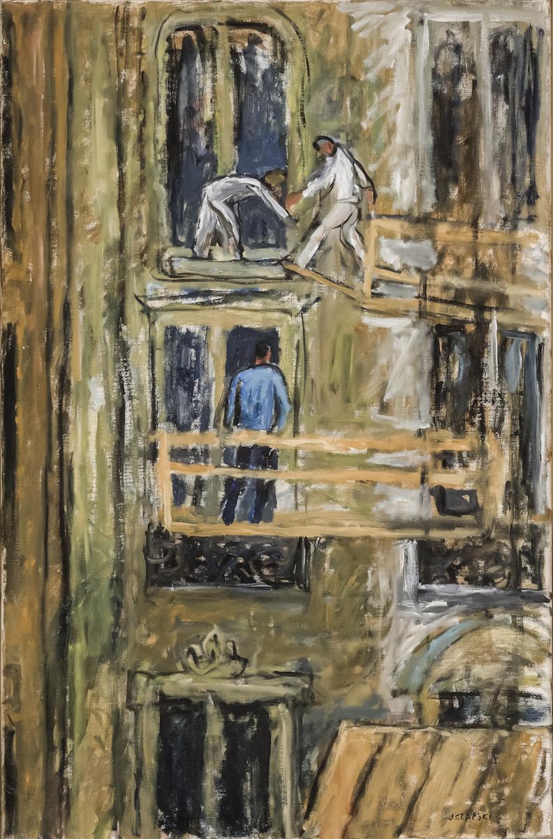 Józef Czapski, Pejzaż, olej, płótno, 41 x 33 cm, fot.MNK