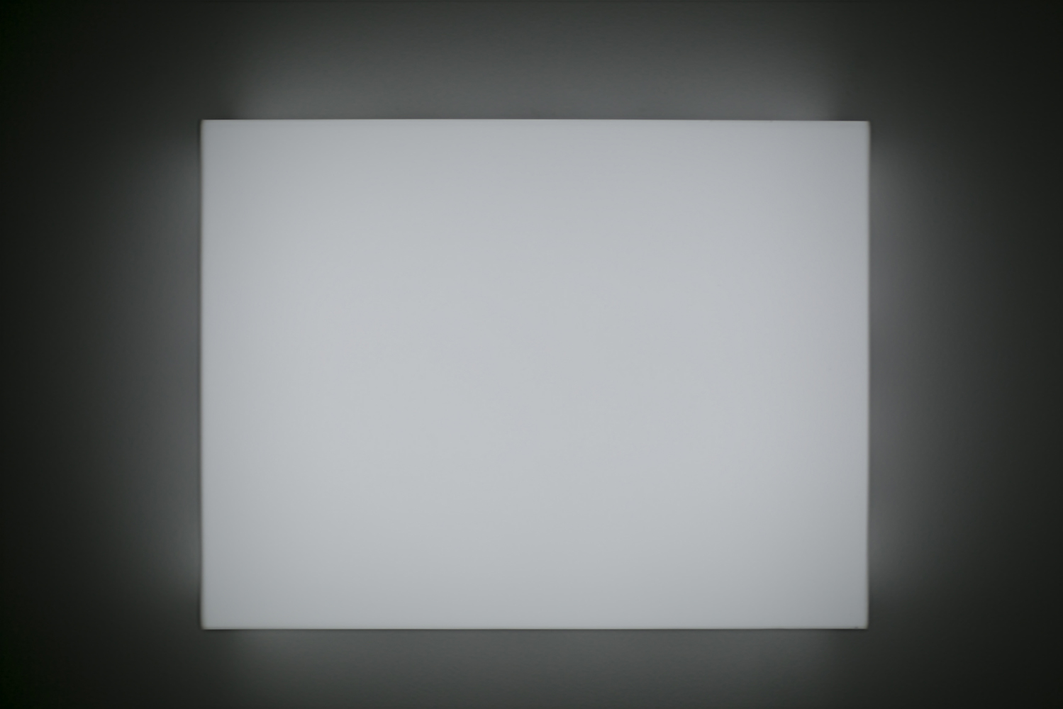 Leon Tarasewicz, beztytułu, plexi, LED 80×60×20 cm, 2016