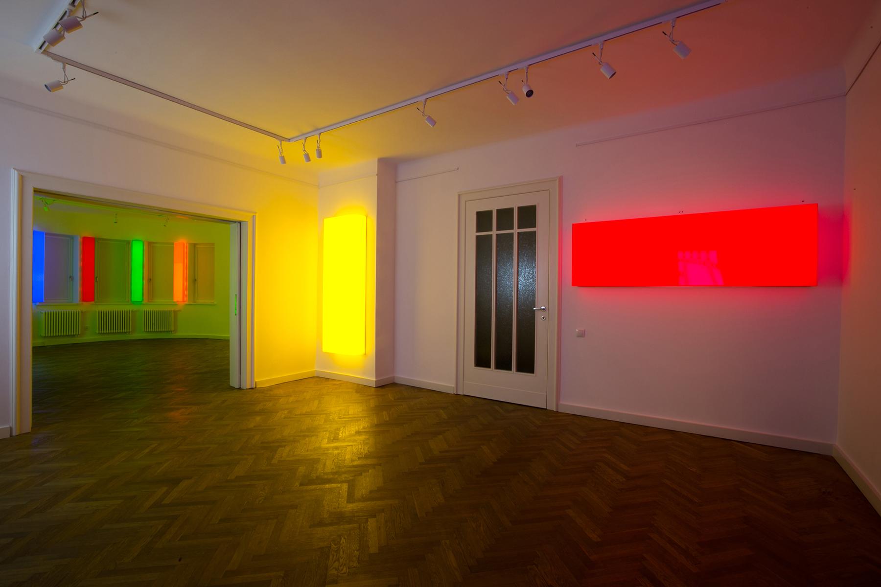 Leon Tarasewicz, widok wystawy