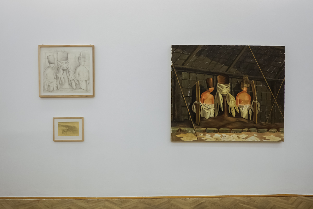 MIEJSCE. Odsłona III, Galeria Foksal, widok wystawy
