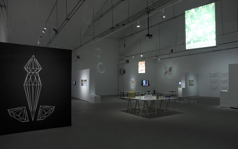 DE – MO – KRA – CJA, widok wystawy, fot.Lesław Skwarski
