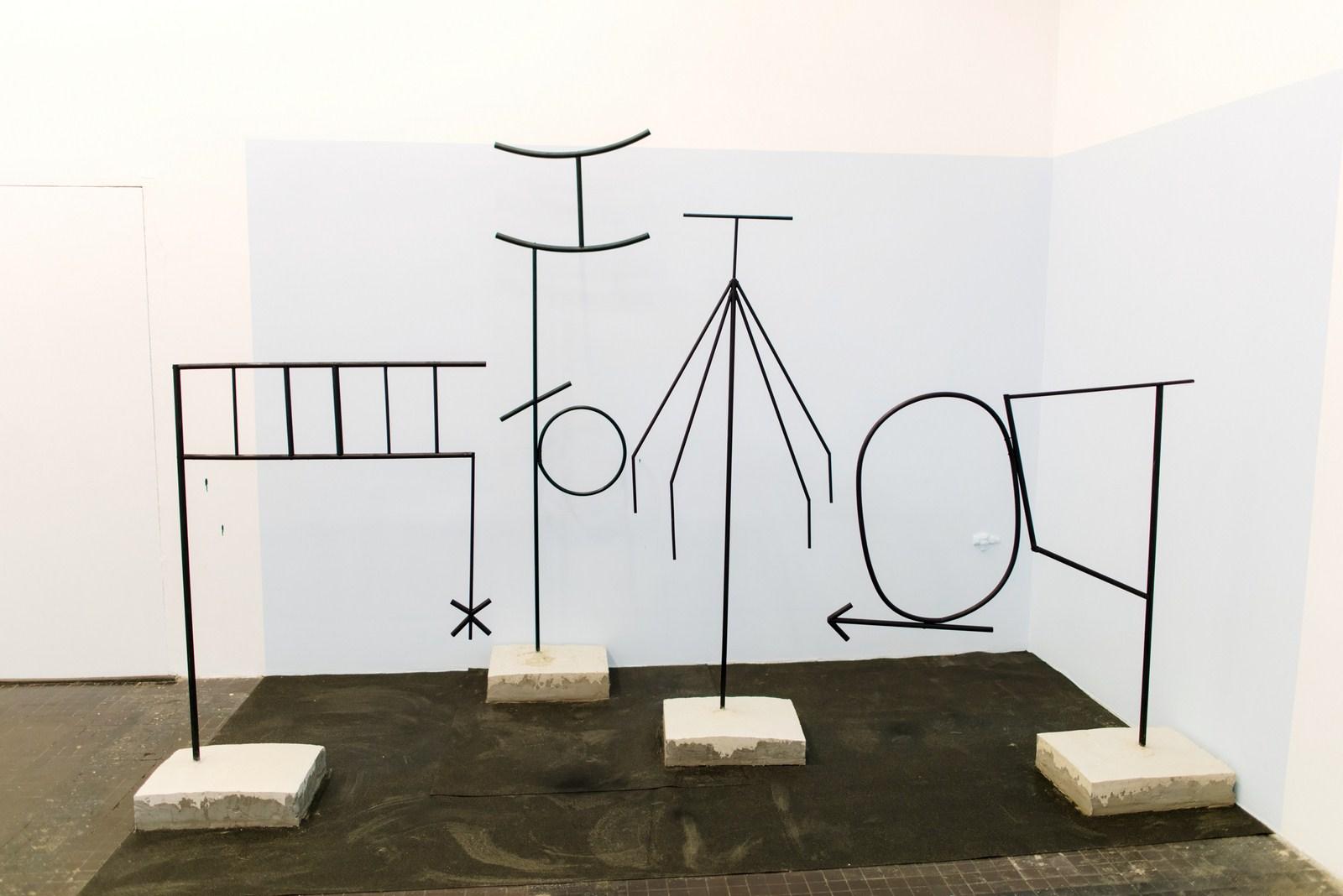 Maria Stożek, Widok, instalacja,2015