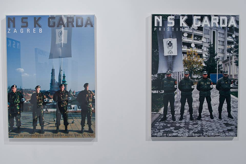 IRWIN, NSK Garda Zagreb orazPristina, fot.Igor Andjlic, dzięki uprzejmości Galerija Gregor Podnar