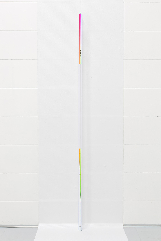 Daniel Koniusz, Untitled (doublespeak 002), karbon, szkło, c-print, wymiary zmienne, 2016