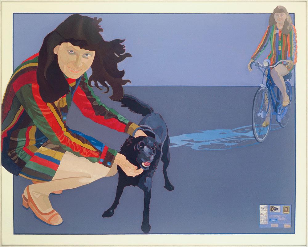 Ewa Kuryluk, Cień roweru, 1976