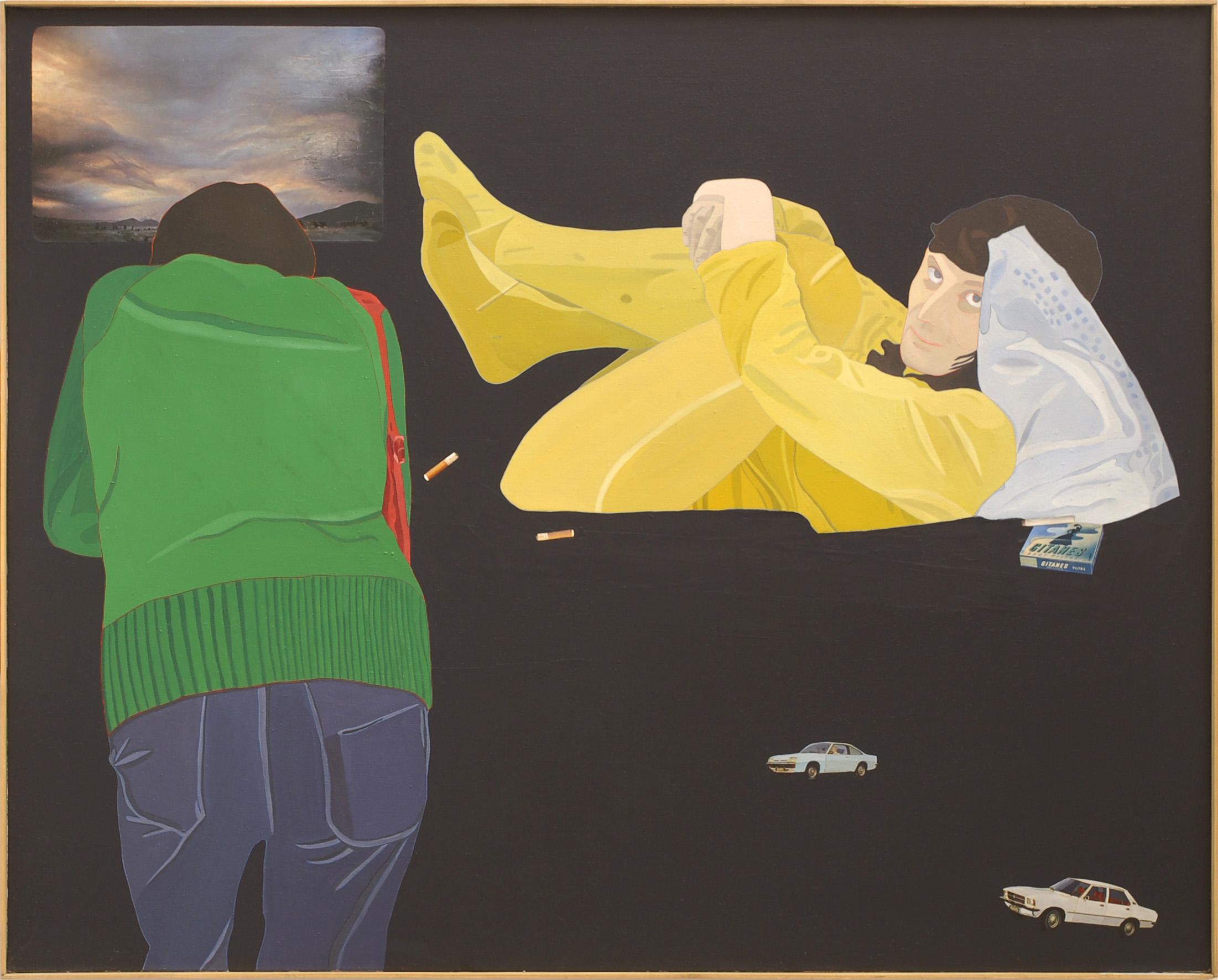 Ewa Kuryluk, Żółta piżama, 1976
