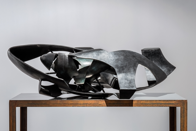 Krzysztof M. Bednarski, Moby Dick - Maska, brąz, czarna patyna, 2008, dzięki uprzejmości BWA Wrocław