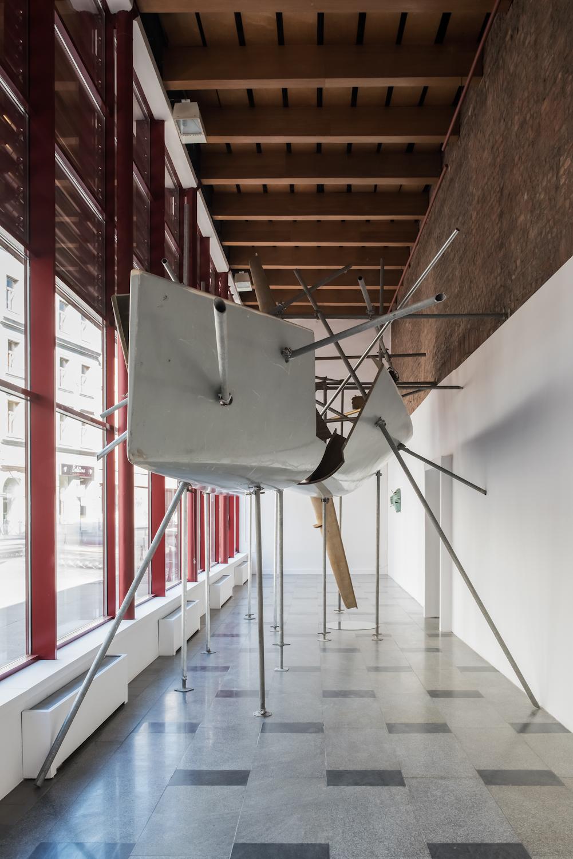Krzysztof M. Bednarski, Moby Dick - Anima Mundi (III), instalacja, 2008/2016, dzięki uprzejmości BWA Wrocław
