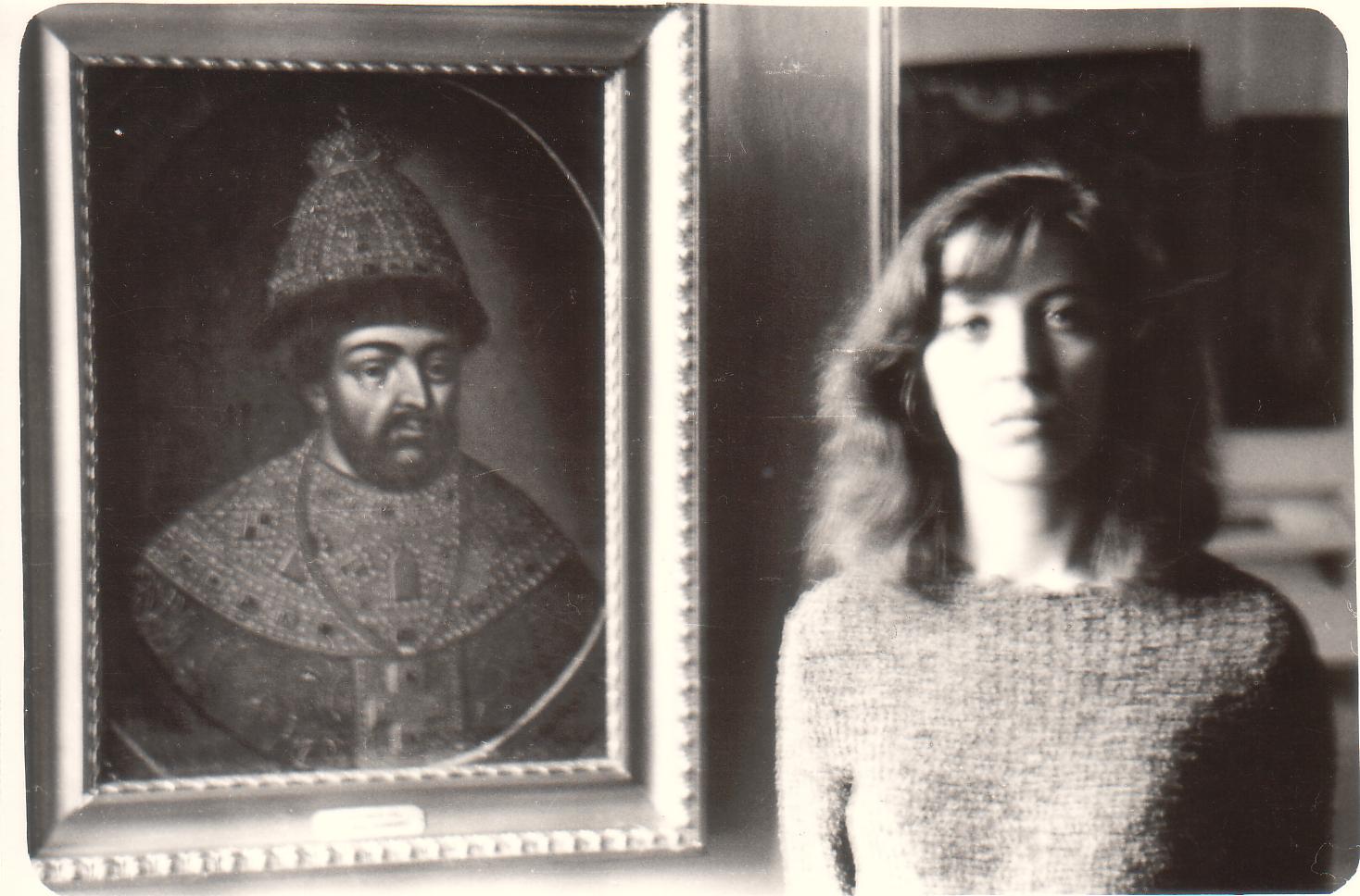 Barbara Kozłowska wmuzeum wIrkucku, 1967