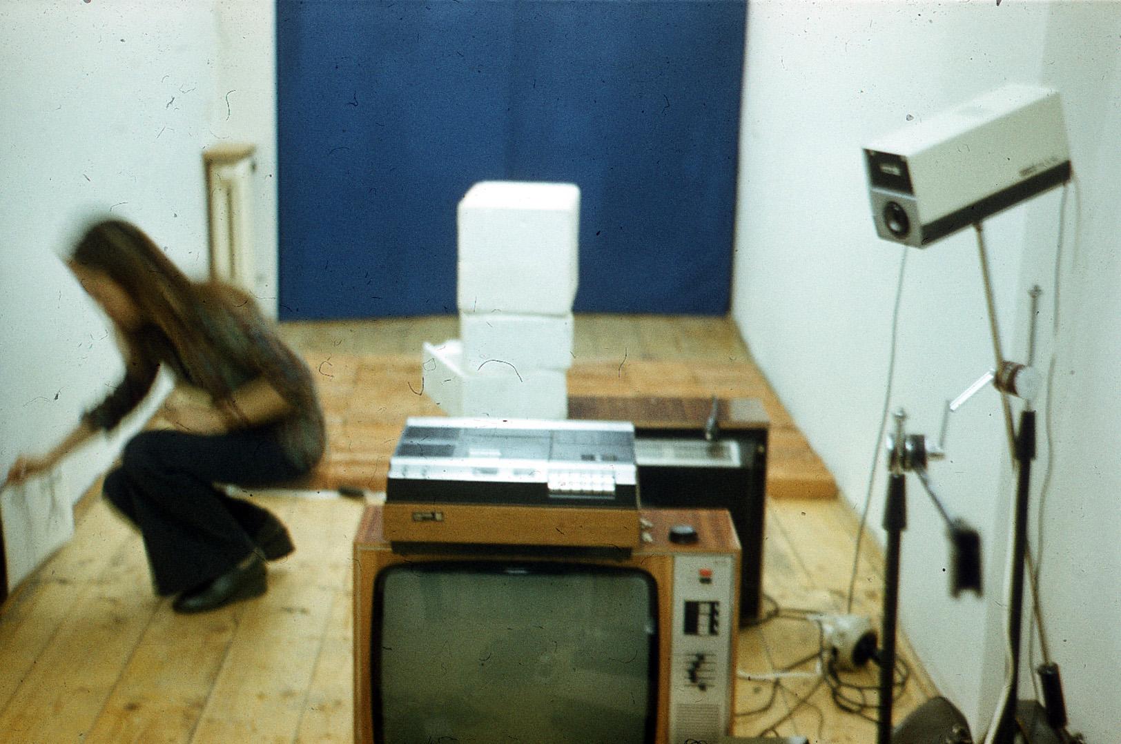 Przygotowania doinstalacji wideo Punkt widzenia, 1978