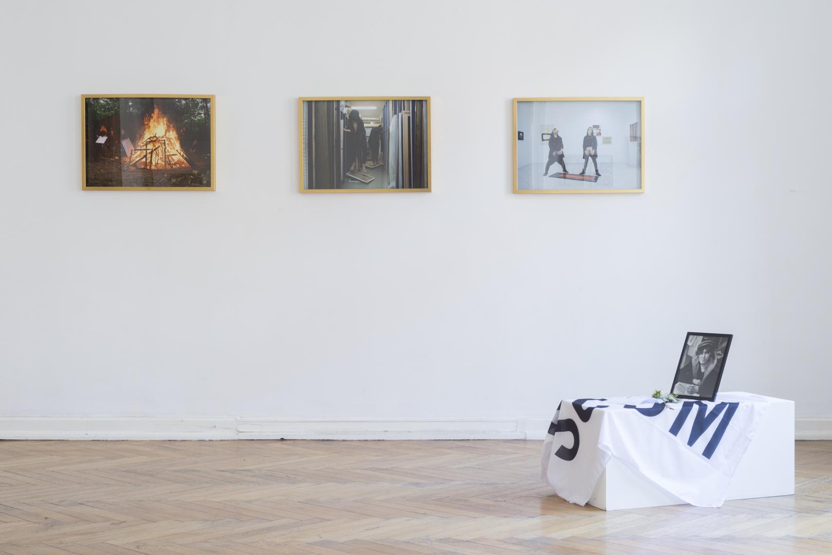 Straszna Triada, 2016, tryptyk fotograficzny, każda 54 x 74 cm