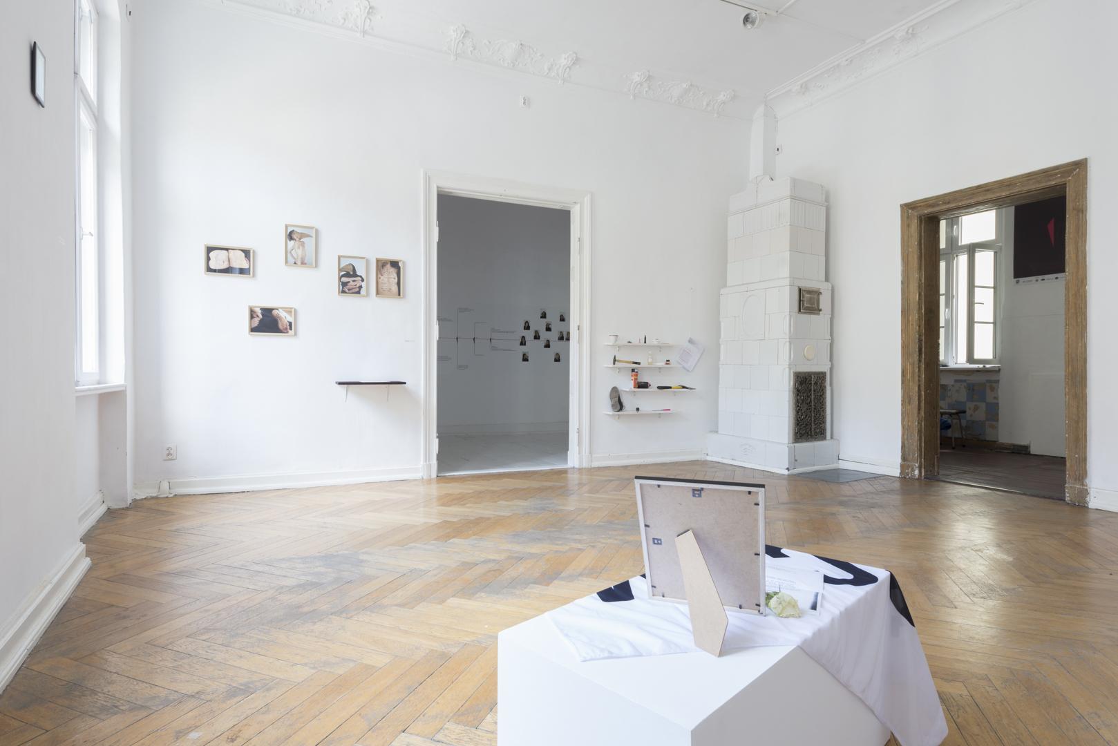 SCUM, widok wystawy