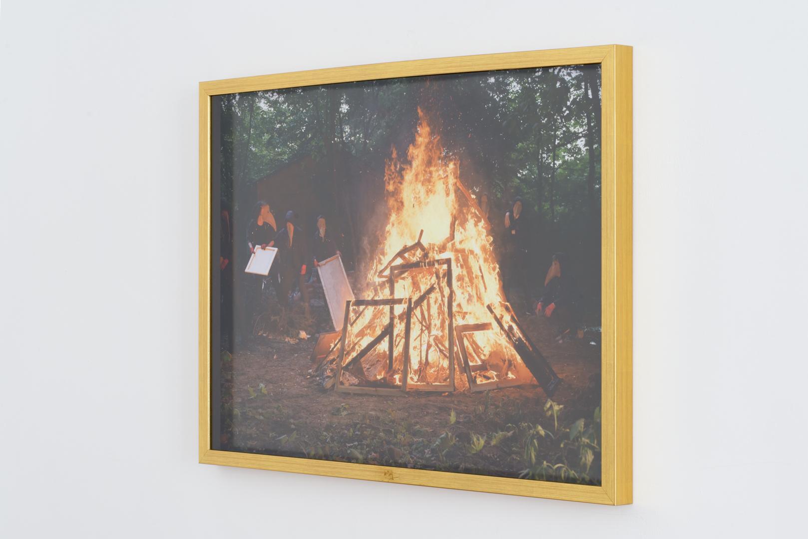 Straszna Triada (fragment), 2016, tryptyk fotograficzny, każda 54 x 74 cm