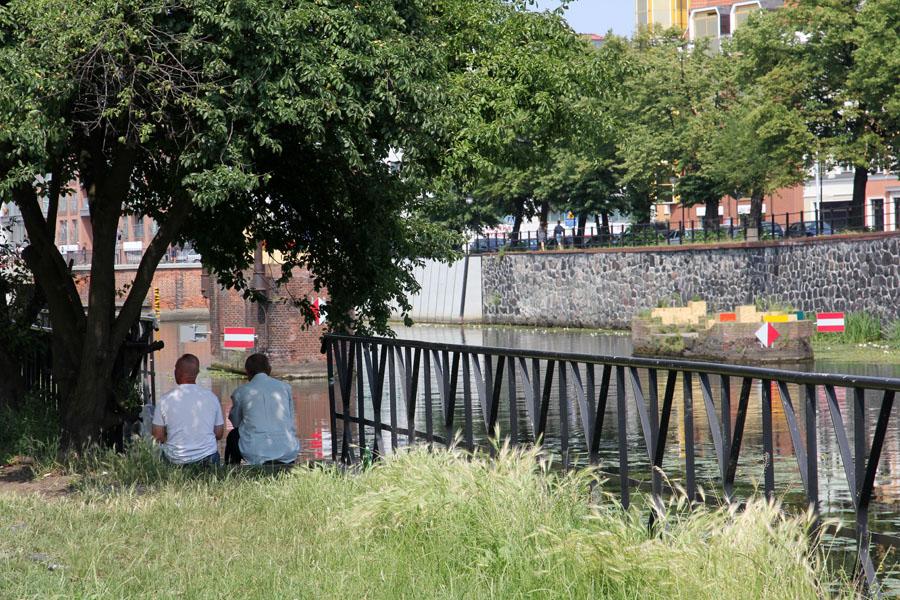 Justyna Wencel iMarcin Chomicki, Rezerwat, Most naSzopy