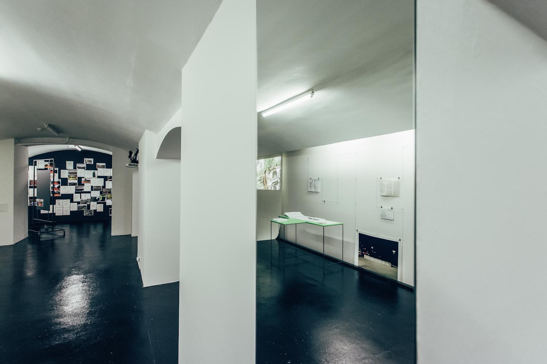 Tekst ijego wykonanie, widok wystawy, fot.Studio FILMLOVE