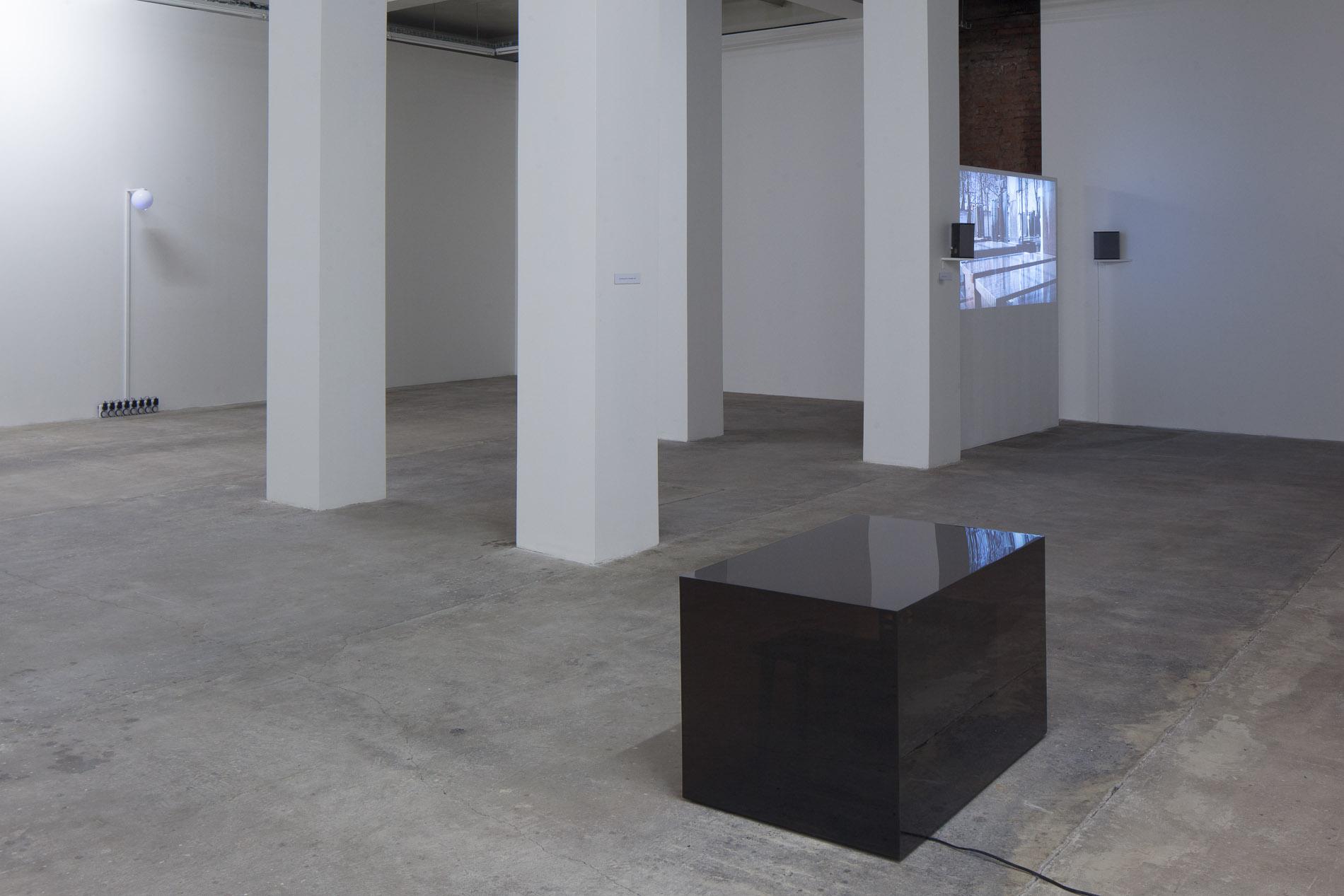Wojciech Bąkowski, Zasilanie wakacji, widok wystawy