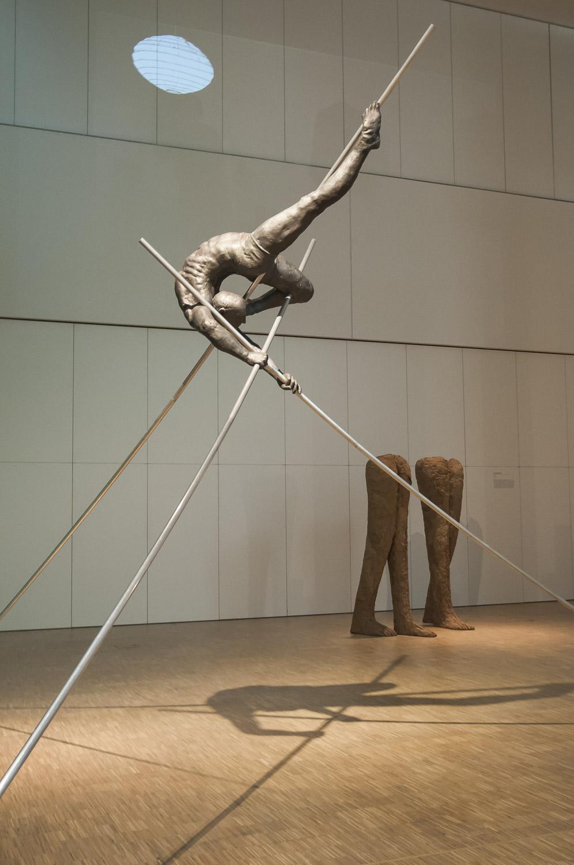W głębi. Artyści Muzeum Śląskiemu, widok wystawy