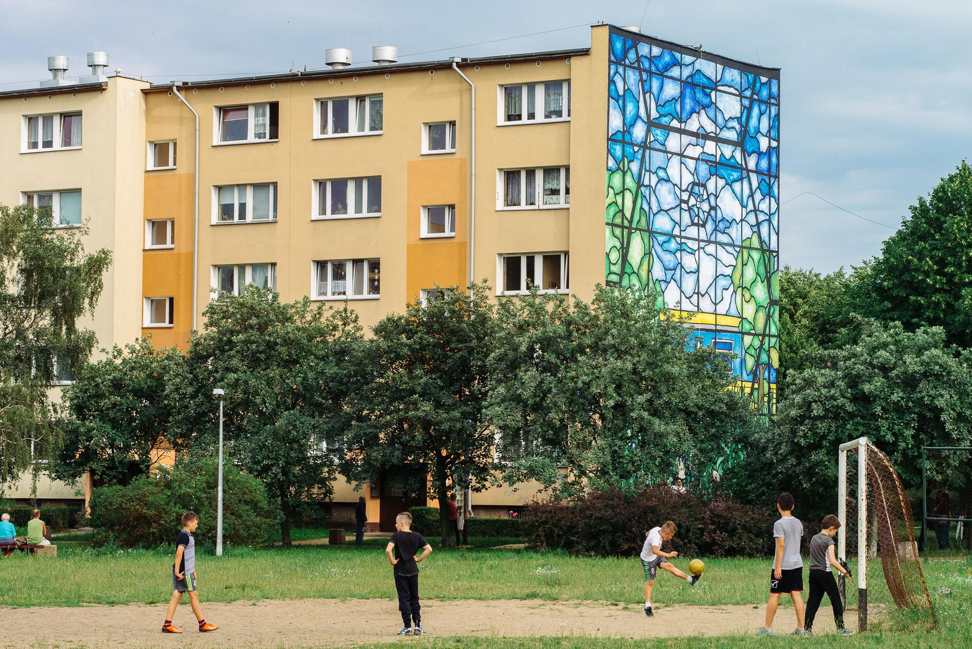 "Kamil Kuzko, Monumental Art 2016 ""Oczekiwanie"""