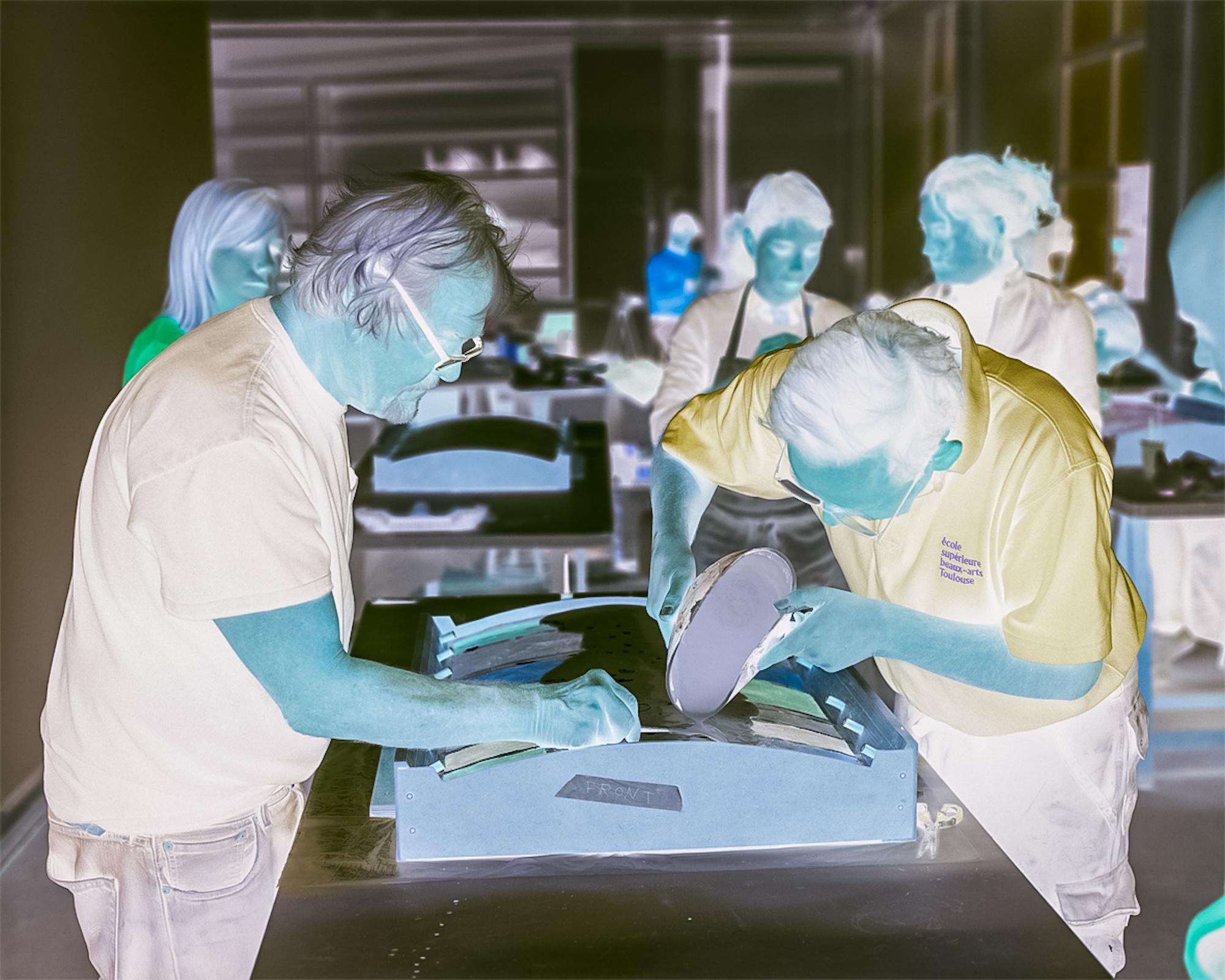 Krzysztof Pijarski, Aurélien Froment, Moiré, widok wystawy