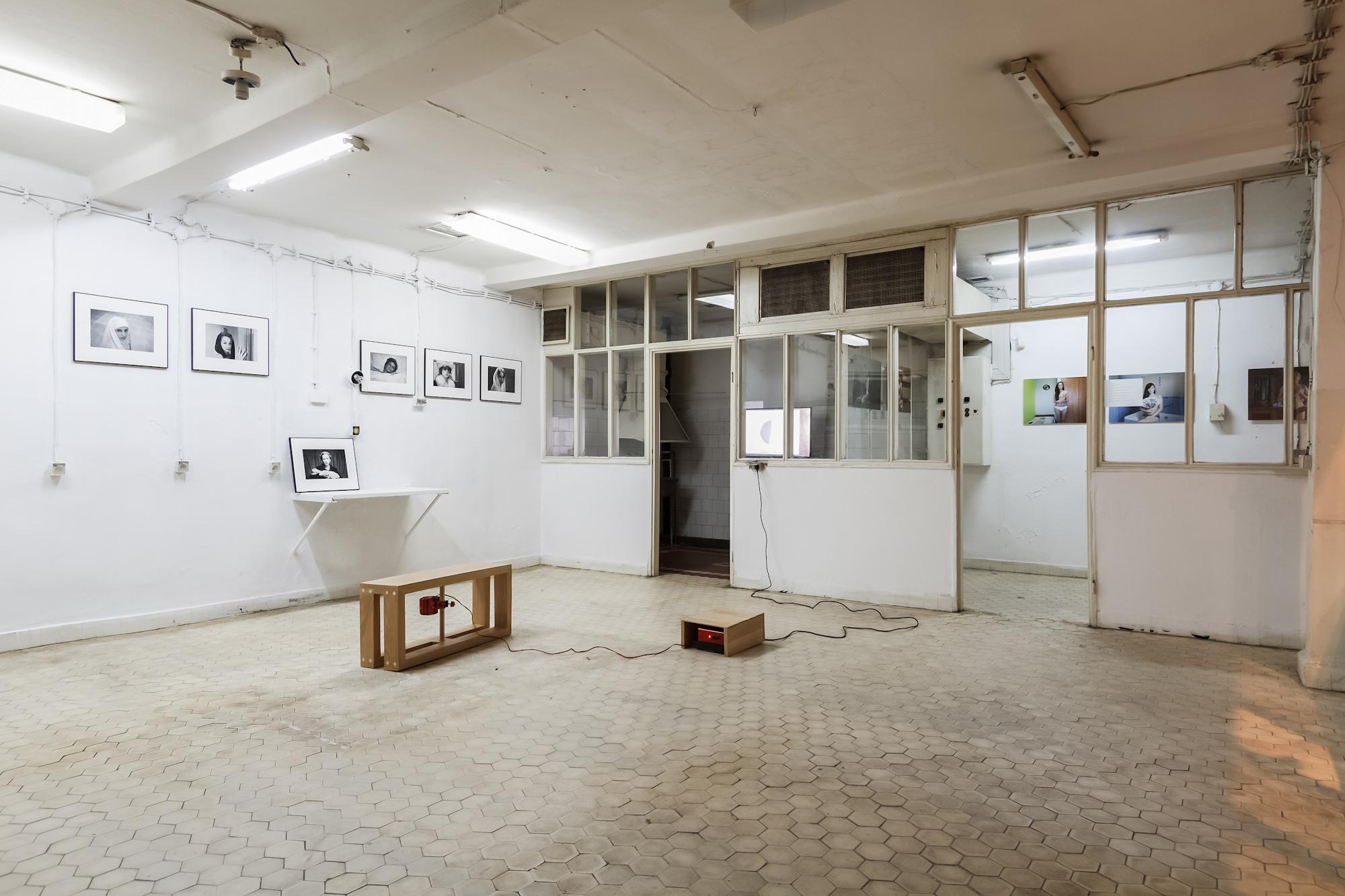 Nowe ilustracje, widok wystawy