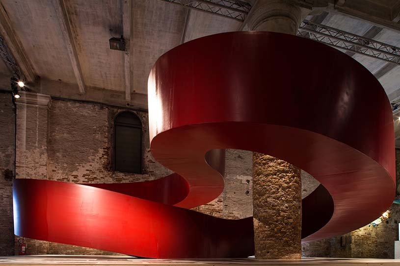 C+S Architects, EDUcare, widok wystawy Reporting From the Front, mat. prasowe Biennale Architektury