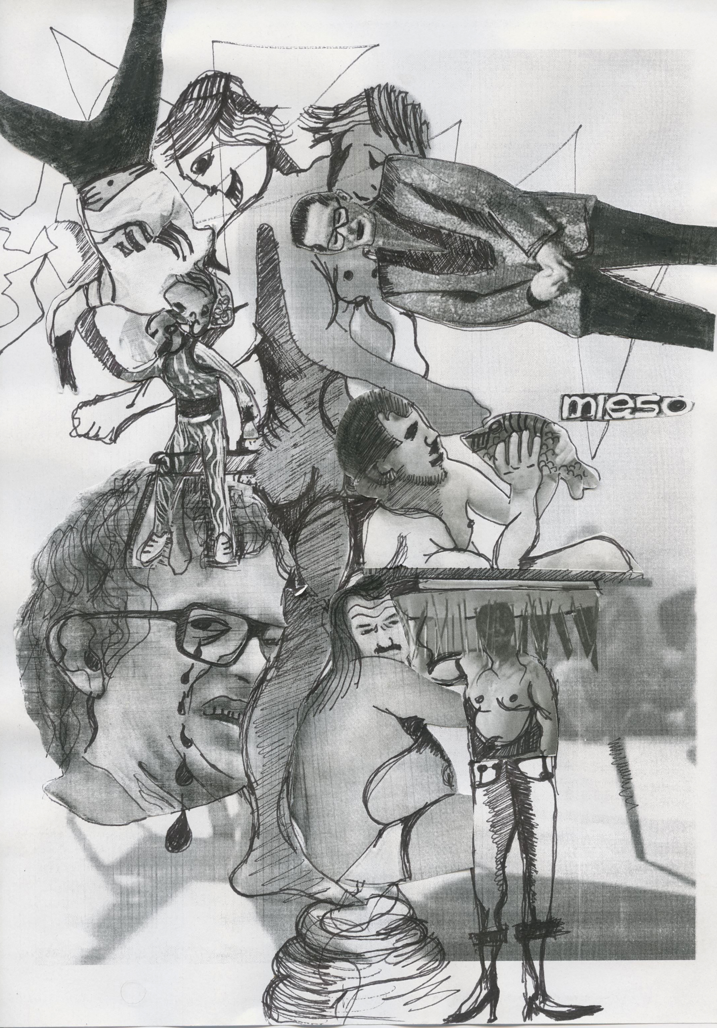 rysunek: Horsefuckers M.C.