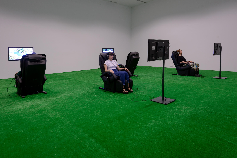 Rafał Żarski, TIME IS OVER, widok wystawy