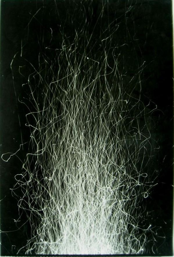 Antoni Mikołajczyk, Zapis Świetlny,1980-82, fot.czarno-biała, 74 x 49 cm