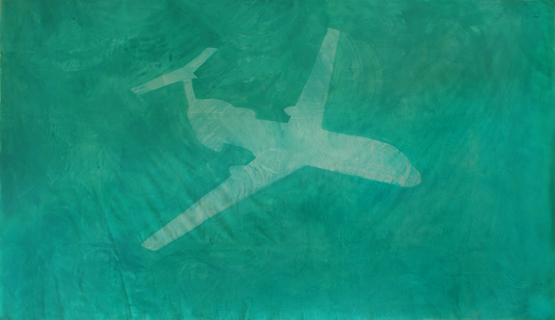 Magdalena Lara, Tu-154M, 400 x 680 cm