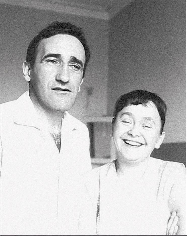 Maria iTadeusz Kantorowie whotelu Chelsea, Nowy Jork, 1965, fot.Archiwum Fundacji im.Tadeusza Kantora