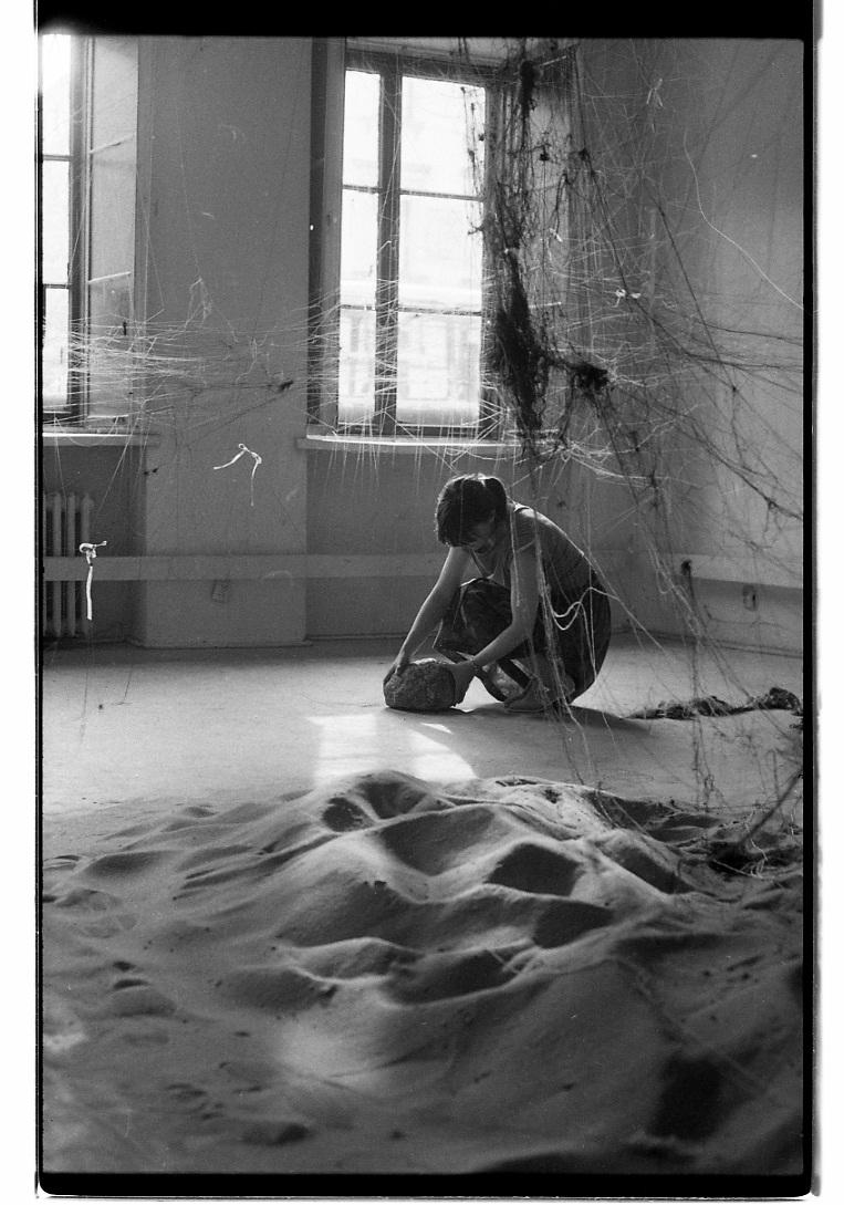 Działanie Doroty Krawczyk-Janisch wreakcji naStwarzanie poprzez innych ihoryzont wolności, 1980