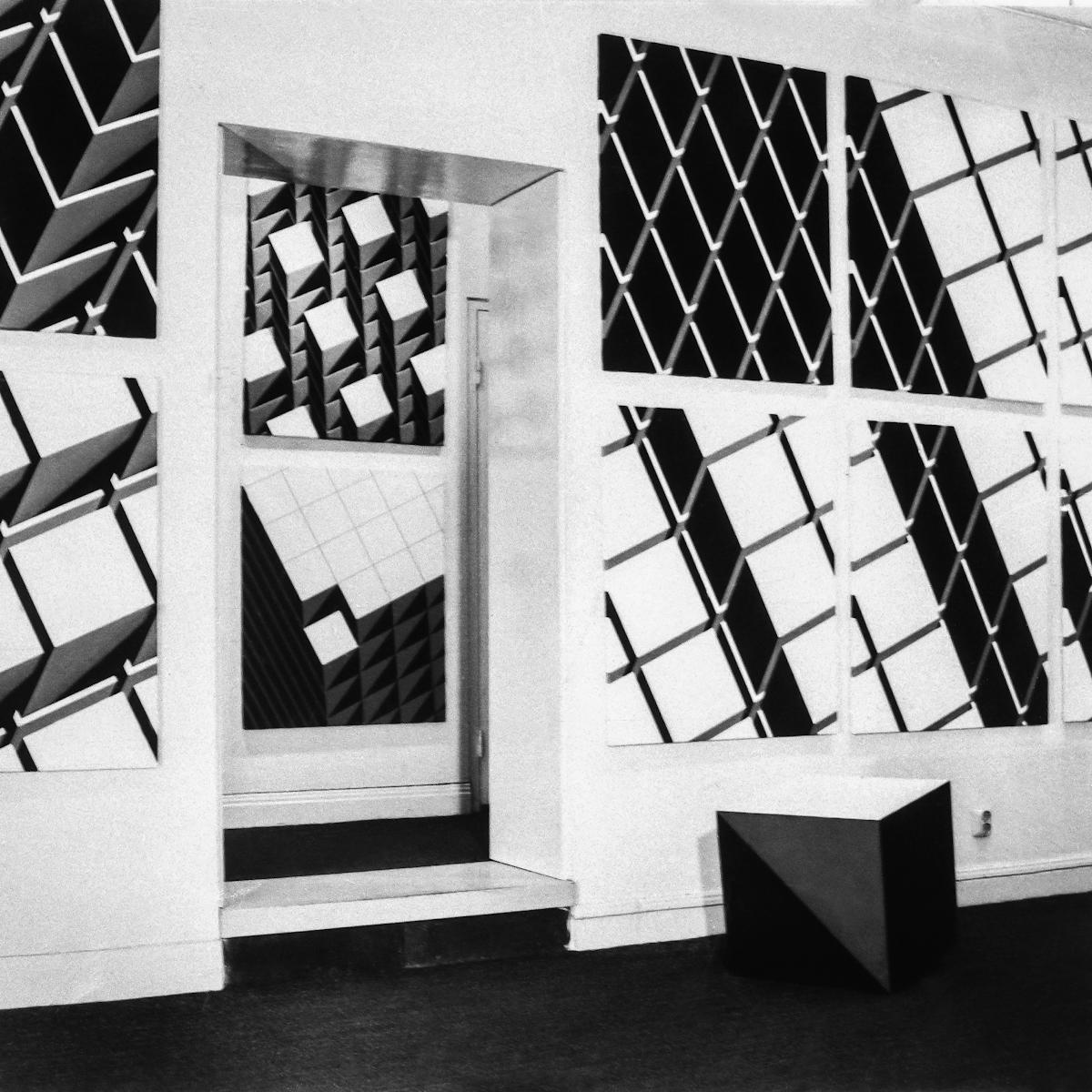 Zbigniew Geppert, Cub'art, Galeria Aronowitsch wSztokholmie, 1970