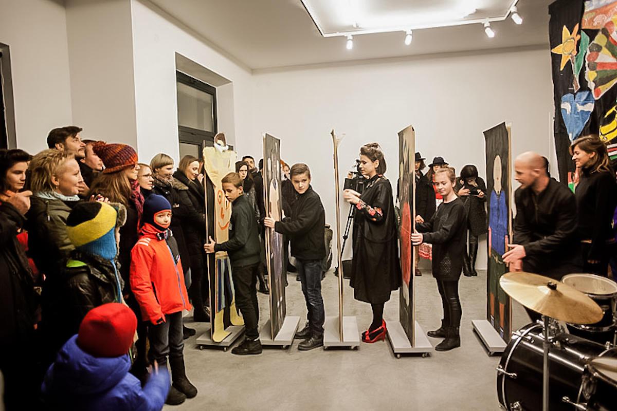 performans Trzecia Droga Moniki Drożyńskiej, Księgarnia | Wystawa, 2014
