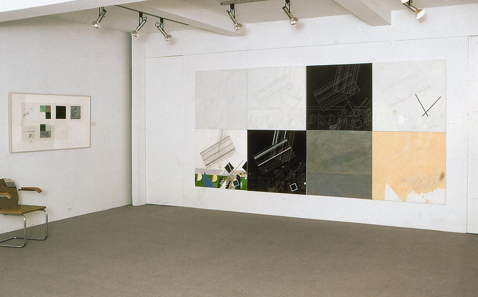 Wystawa wMarian Goodman Gallery, Nowy Jork, 1981