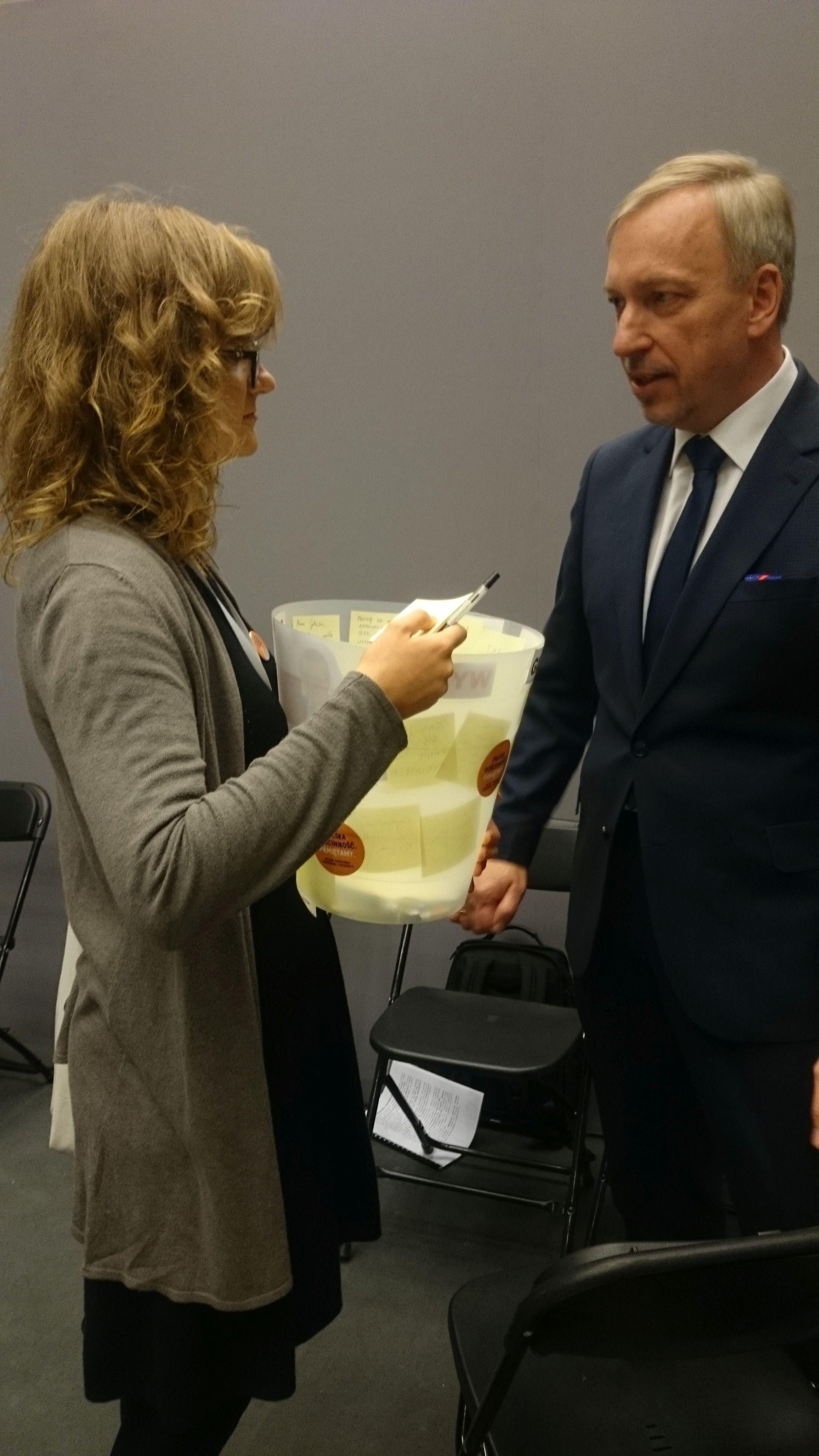 Spotkanie zministrem Bogdanem Zdrojewskim, Kongres Kultury 2016