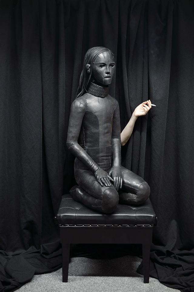 Aneta Grzeszykowska,Untitled (Skin doll), 2016, 40 x 54 x 100
