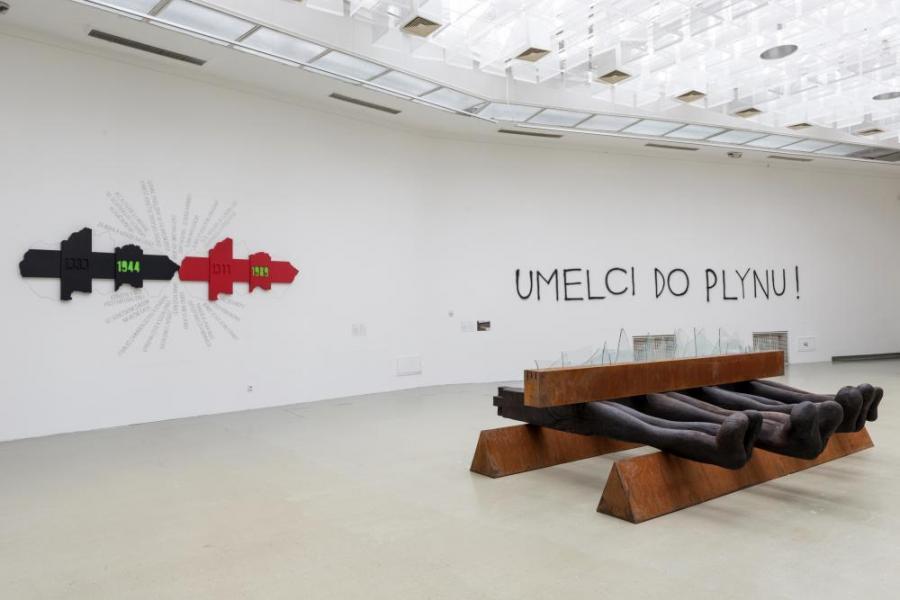 Look What Is Back, Kunsthalle Bratislava, widok wystawy