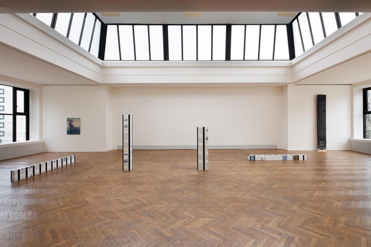 """Sam Lewitt/Cheyney Thompson.Grid. Gradient. Drunken Walks."" at The Brno House of Arts"