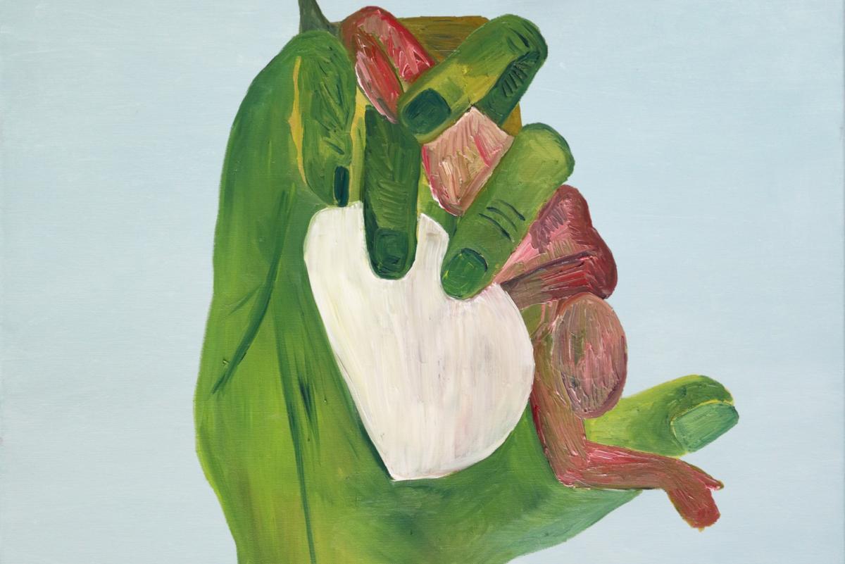 Ręce, które leczą, ręce, które duszą. Dominika Kowynia wGalerii Szarej